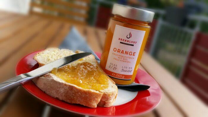 BRENNLUST | Orangen Marmelade / Fruchtaufstrich