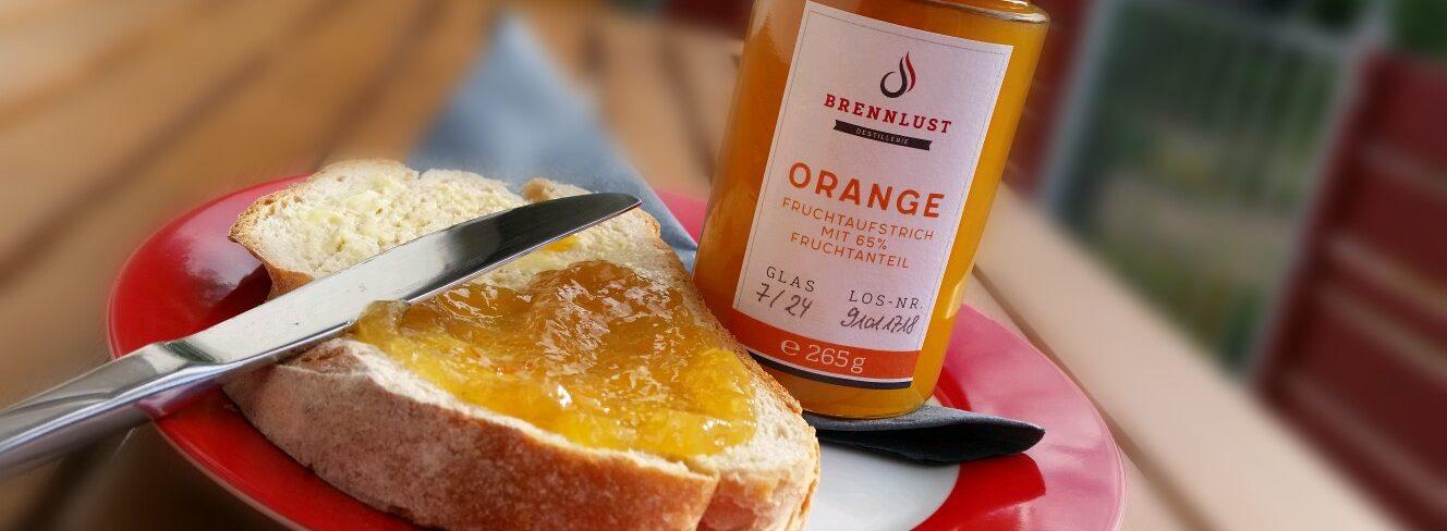 Brennlust Orangen Fruchtaufstrich