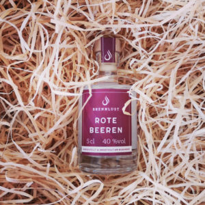 BRENNLUST Mini Rote Beeren Geist 5 cl