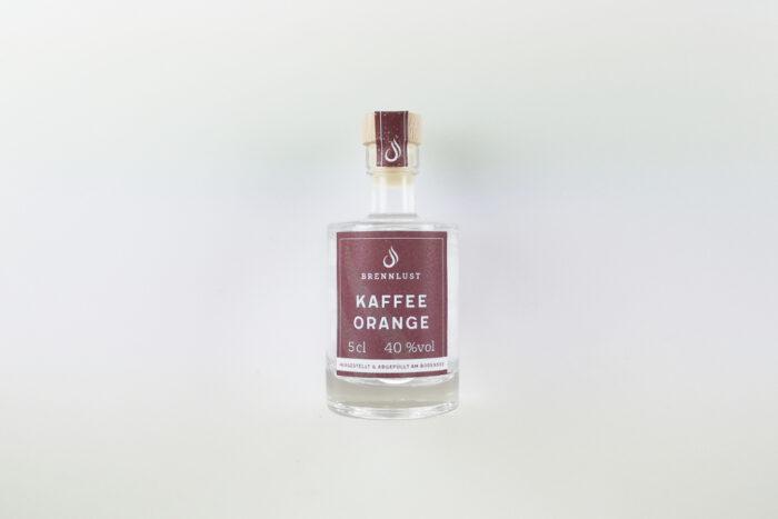 BRENNLUST Mini Kaffee Orangen Geist 5 cl