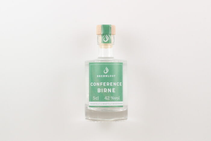BRENNLUST Mini Conference Birnen Brand 5cl