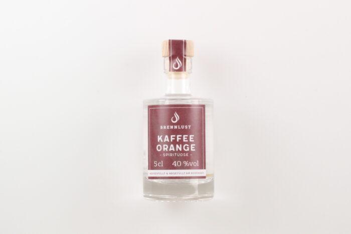 BRENNLUST Mini Kaffee-Orangen Geist 5cl