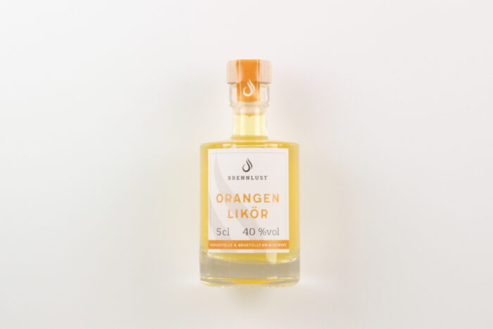 BRENNLUST Mini Orangen Likör 5cl