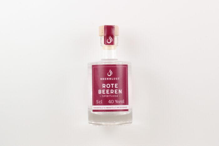 BRENNLUST Mini Rote Beeren Geist 5cl