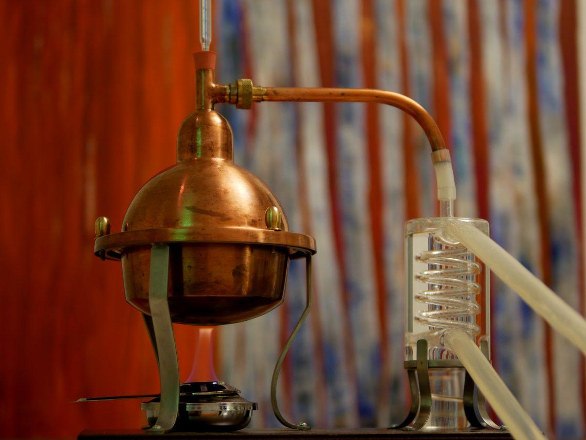 Brennabend mit Brennlust: Mini-Destille