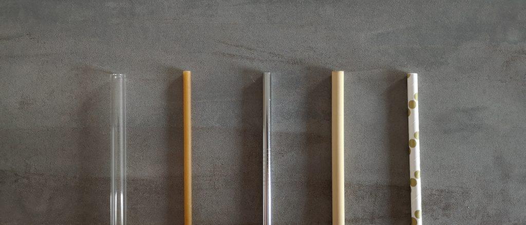 Alternative Trinkhalme: Glas, Nudel, Edelstahl, Bambus, Papier