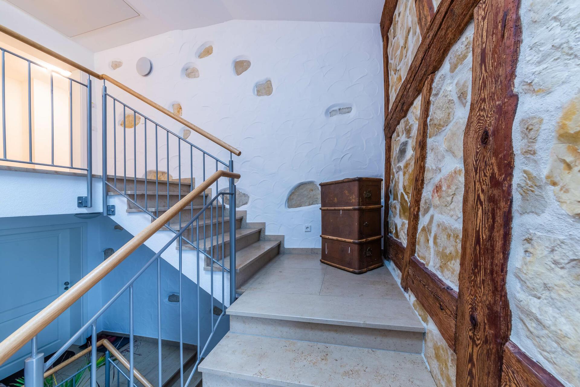 Ferienwohnung ReiseLUST: Treppenhaus