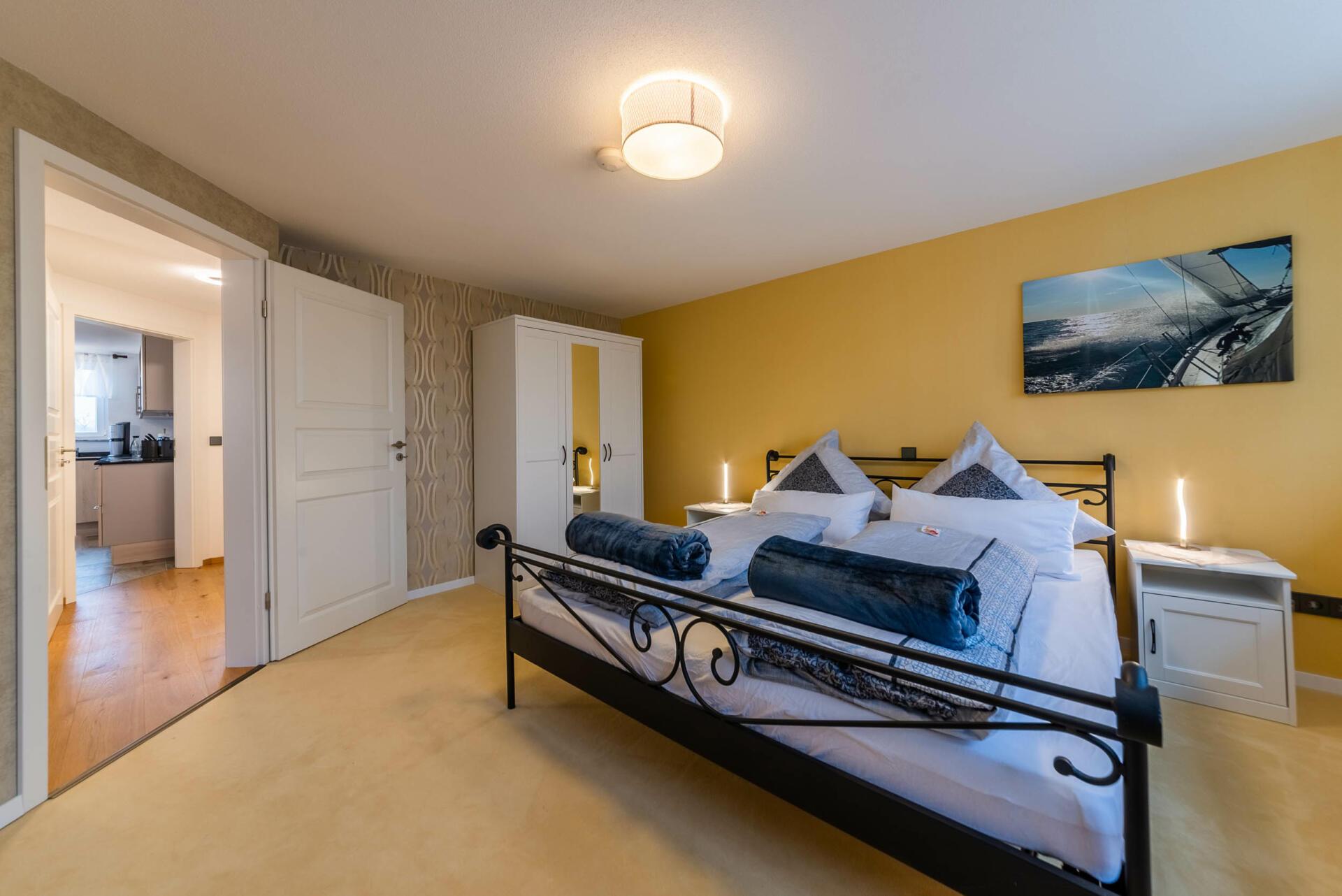 Ferienwohnung ReiseLUST: Schlafzimmer