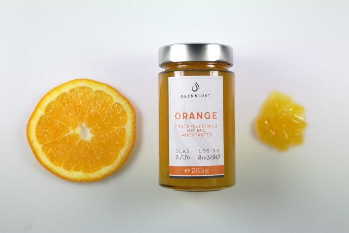 BRENNLUST | Orangen Fruchtaufstrich