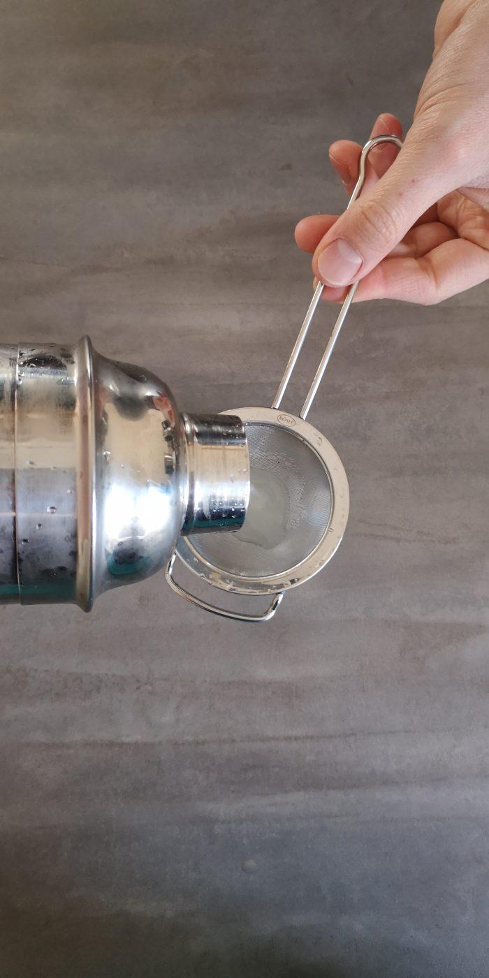 BRENNLUST Rezept: Gin Fizz mit Limettensaft