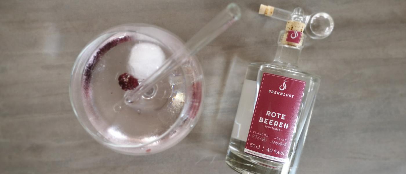 BRENNLUST Rezept: Himbeer & Tonic