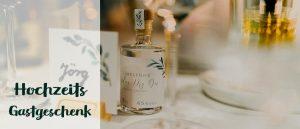 Brennlust Minis als individuelle Hochzeits Gastgeschenk / Gastgebergeschenk