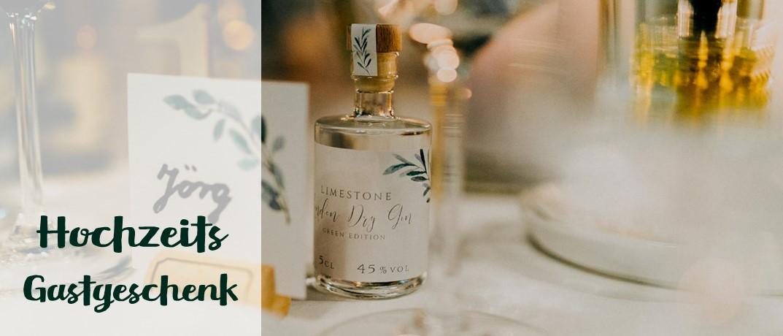Personalisiertes Gastgeschenk/Gastgebergeschenk für Eure besondere Hochzeit